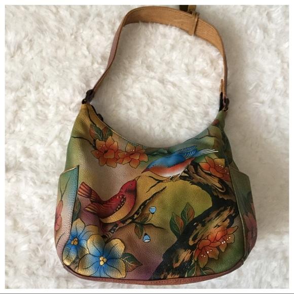 Anuschka Bags   Handpainted Leather Bag Authentic   Poshmark 71257dfb63